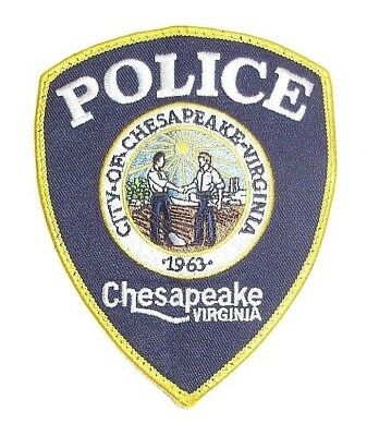 City Of Chesapeake Virginia Police Shoulder Patch