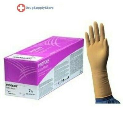 IND Protexis Latex Micro Surgical Gloves,Size 7.5 - Box of 1