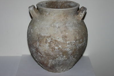 LARGE ANCIENT GREEK POTTERY HELLENISTIC AMPHORA 3rd CENTURY BC WINE