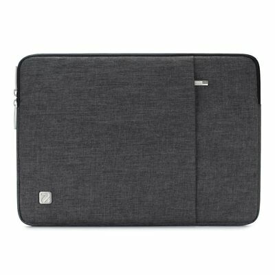 NIDOO 15.6 Inch Laptop Sleeve Case Water-Resistant Protective Cover Portable Com