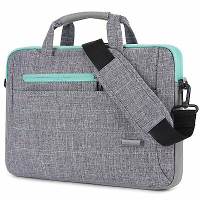 Brinch 15 - 15.6 Inch Multi-functional Suit Fabric Portable Laptop Sleeve Case S