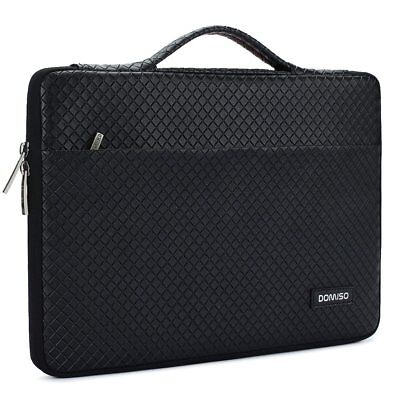 DOMISO 15.6 Inch Waterproof Laptop Sleeve with Handle Portable Carrying Case for