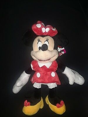 569e625f048 Toddler Girls  Disney Mickey Mouse   Friends Minnie Mouse Plush Backpack -  Black