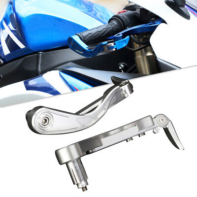 """Brake Clutch Lever Protector Guards Bar Ends for 7/8"""" 22mm Motorcycle Handle Bar"""