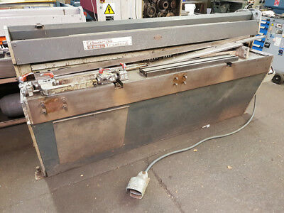 EDWARDS 2000 / 3.25 DD MECHANICAL GUILLOTINE Price £3750 plus VAT