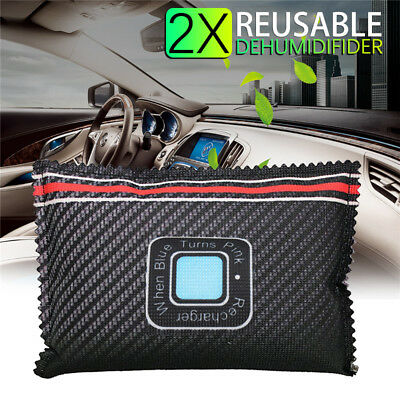Car Dehumidifier Reusable Anti Mist Moisture Condensation Absorbing Bag Recycle