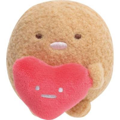 Sumikko Gurashi Collection TonKatsu Heart Mini Plush Doll Tenori - San-x Japan