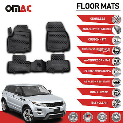 Intro-Tech All Weather Mats w//OEM fastening system Mercedes E Class 2003-2009