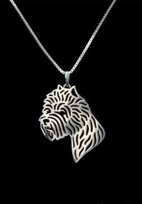 West Highland Terrier Pendant Necklace Westy Jewellery 18 inch Chain - Silver
