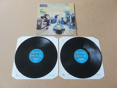 OASIS Definitely Maybe CREATION 2 x LP RARE 1994 DAMONT UK 1ST PRESSING CRELP169