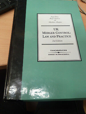 UK Merger Control: Law & Practice Hardcover – December 15, 2004