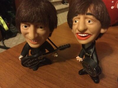 1964 Beatles Vintage Figurines (NEMS, Seltaeb) - Complete Set! (Free Fast Ship)