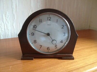 Smiths 30 Hour Wood Bodied Mantle Clock - Spares Or Repairs