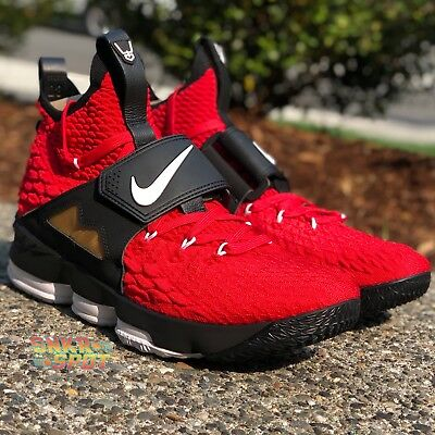 fbc3bafec3 NIKE LEBRON 15 - Red Diamond Turf - sz 12 - AO9144-600 XV Deion ...