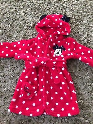 Babies Dressing Gown 6 To 9 Months