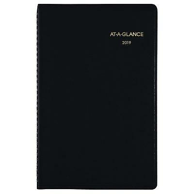 "AT-A-GLANCE 2019 Weekly Planner / Appointment Book,  5"" x 8"", Black 70-100-05"