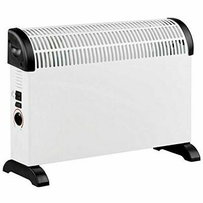 Electric Convection 2000W Heater Radiator Thermostat Free Standing Winter Care