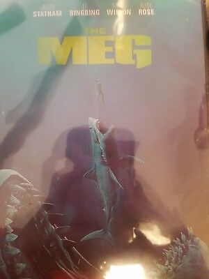 The Meg (DVD, 2018) FREE SHIPPING IN THE U.S.A.