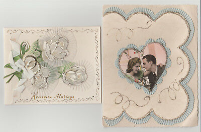 Cartes Postales, Amour Mariage 1950