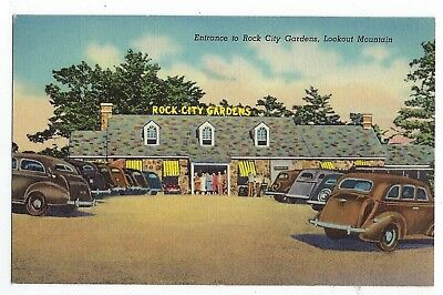 Entrance To Rock City Gardens - Tennessee - Vintage Postcard