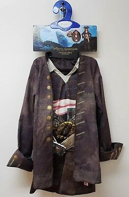 Disguise Deluxe Child Costume Pirates Of The Caribbean Captain Jack Sparrow