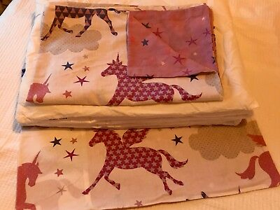 baby cot duvet and pillow with covers 120/90