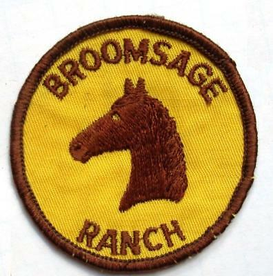"""Indiana's Bloomsage Ranch 2 3/4"""" Cloth Patch/Free Shipping"""