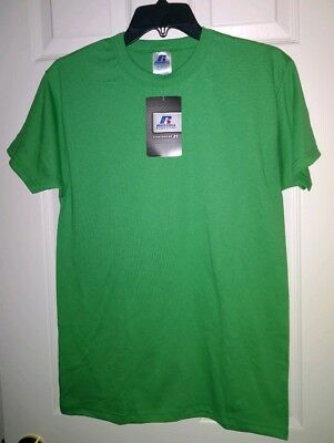 Russell Athletic T-SHIRTS Lot 24 Choice S M L XL Kelly Green Wholesale NWT