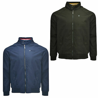 Mens Lambretta Classic Oxford Harrington Ska Mod Scooter Jacket Sizes M to 4XL