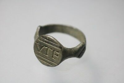 Ancient Fantastic Roman Bronze Legionary Ring * VTF * 1st - 4th century AD
