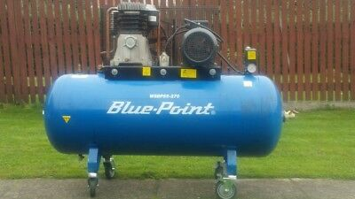 BluePoint Air Compressor Snap On 3 Phase 270 Ltrs