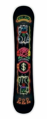 Ride Saturday Women's Snowboard 2019 Deck All Mountain Freestyle Freeride New
