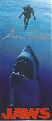 JAWS colorful Magnet 1st Victim autographed by First Victim   (Chrissie)
