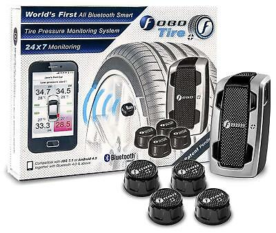 Fobo Tyre Pressure Monitor System Bluetooth TPMS 4.0 Android & iOS Compatible