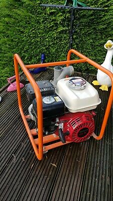Honda GX120 Petrol Engine Driven 2 inch Water Pump, Portable, Excellent Cond!