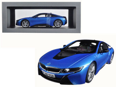 1 18 Paragon Bmw I8 In Protonic Blue Diecast Model 138 95 Picclick