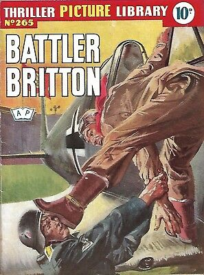 Thriller Picture Library 265 Battler Britton