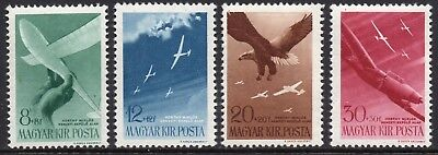 HUNGARY 1943 Horthy Aviation Fund Issue IV Fine MINT NH Set - MNH