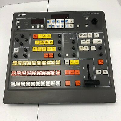 BVS 3200 Sony Video Production Switcher Only Tested Working