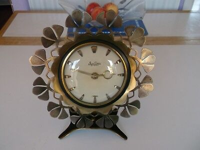 vintage mantle / desk clock C1960/70's Bentima