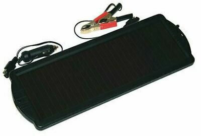 Ring Dashboard Solar Panel 1.5W Battery Top Up Maintenance Charger Camper Car