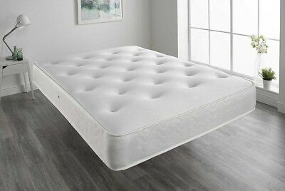 Thick Luxury Memory Foam Orthopaedic Sprung Mattress - 3Ft, 4Ft 6, 5Ft, 6Ft