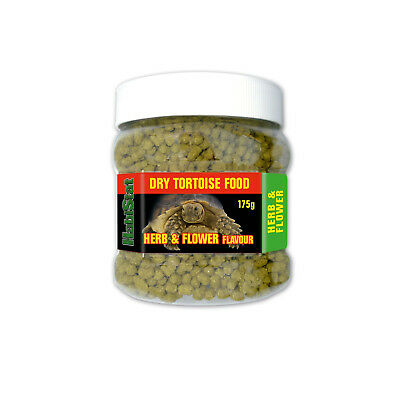 Habistat Herb and Flower Flavour Dry Tortoise Food 175g, 350g, 700g