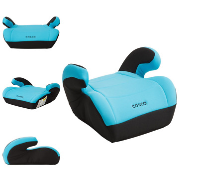 Cosco Topside Booster Car Seat Easy to Move Lightweight Design Turquoise child