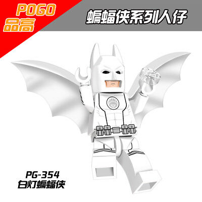 PG354 New Gift Rare Game White Toy Custom Compatible Movie #H2B