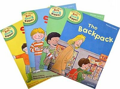 Biff, Chip and Kipper - Level 3 - Phonics Collection (4 books)