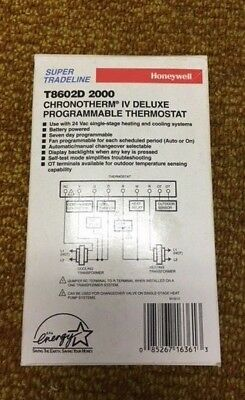 Honeywell Programmable Thermostat:  T8602D 2000 /NEW