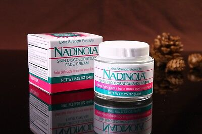 Nadinola Skin Discoloration Fade Cream Extra Strength 2.25 oz