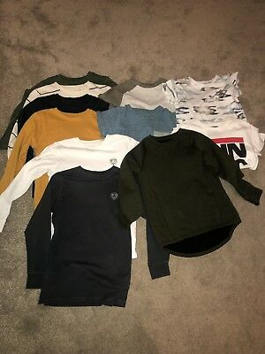 Boys Next Clothes bundle Age 6, Jumpers, Long Sleeve Tops, T Shirts