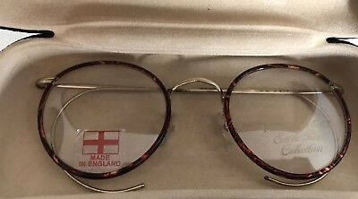 Seville Row Collection 14K Harry Potter Eyeglasses Made In England EUC